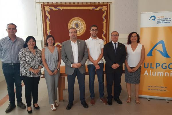 Convenio de la ULPGC con la Asociación Alumni