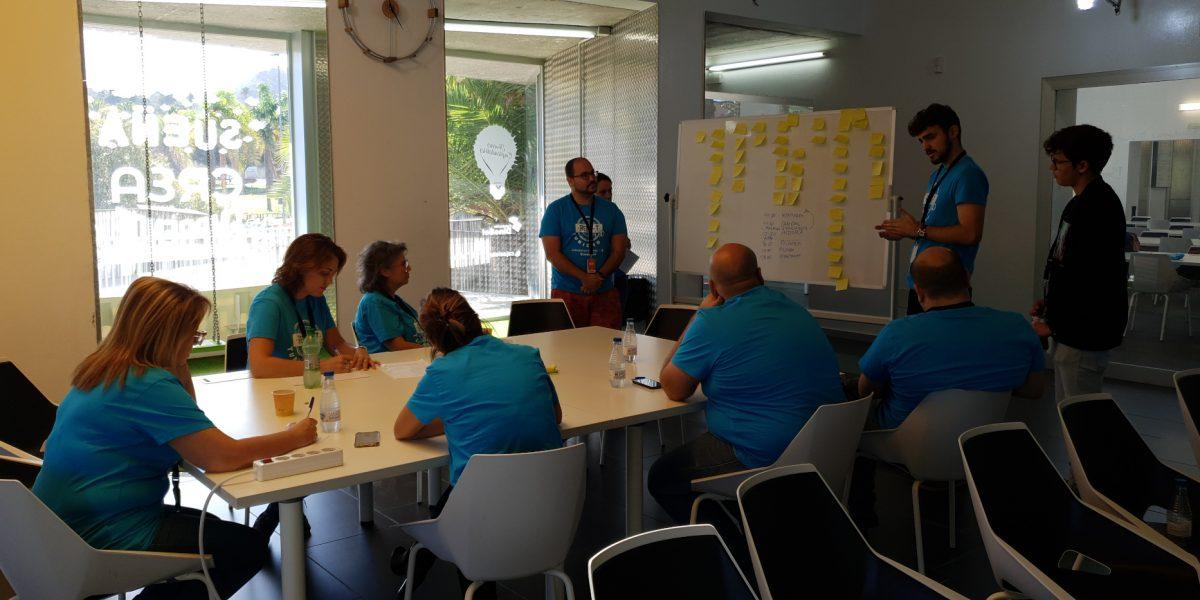 Punto de mentoría en el hackatón RETA-T Lab Turismo