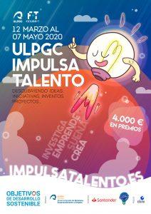Cartel de ULPGC Impulsa Talento