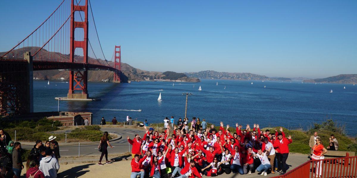 Grupo ganador de Explorer en su visita a Silicon Valley