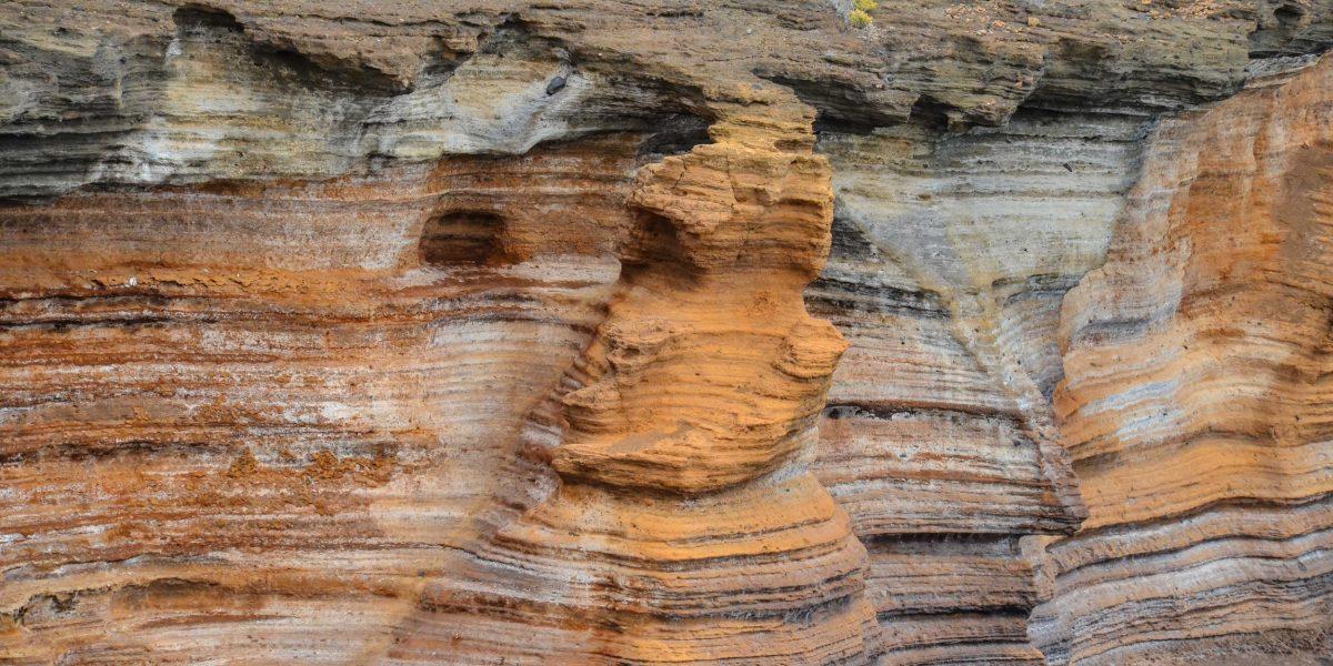 Pared de basalto de Gran Canaria