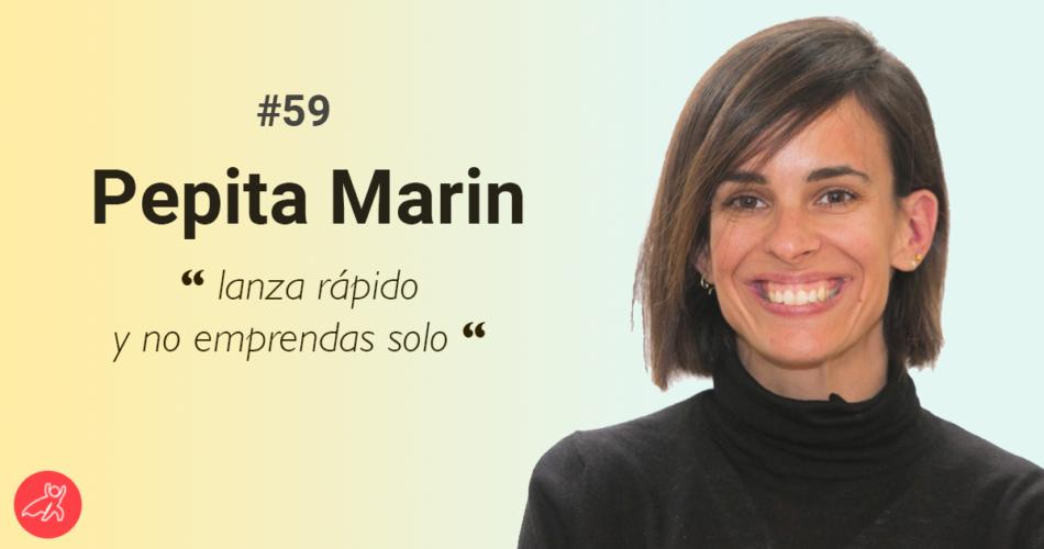 Imagen y frase de Pepita Marin