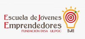 Logo de la Escuela de Jóvenes Emprendedor@s, Fundación DISA - ULPGC